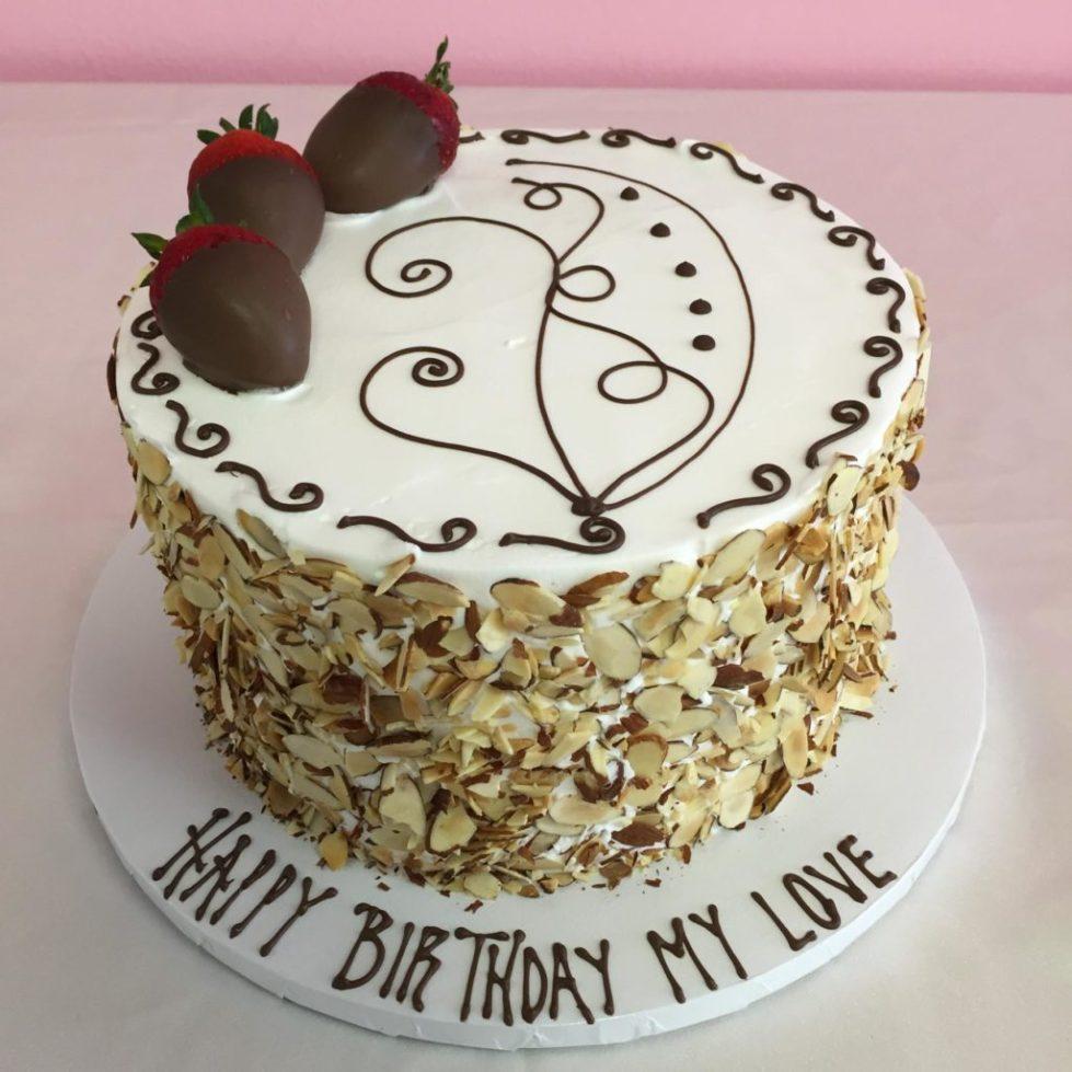 Торт с пожеланием