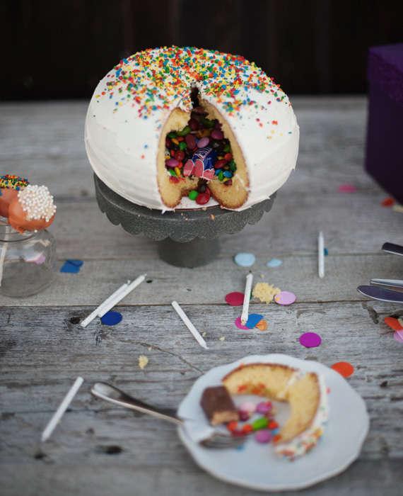 Торт с начинкой