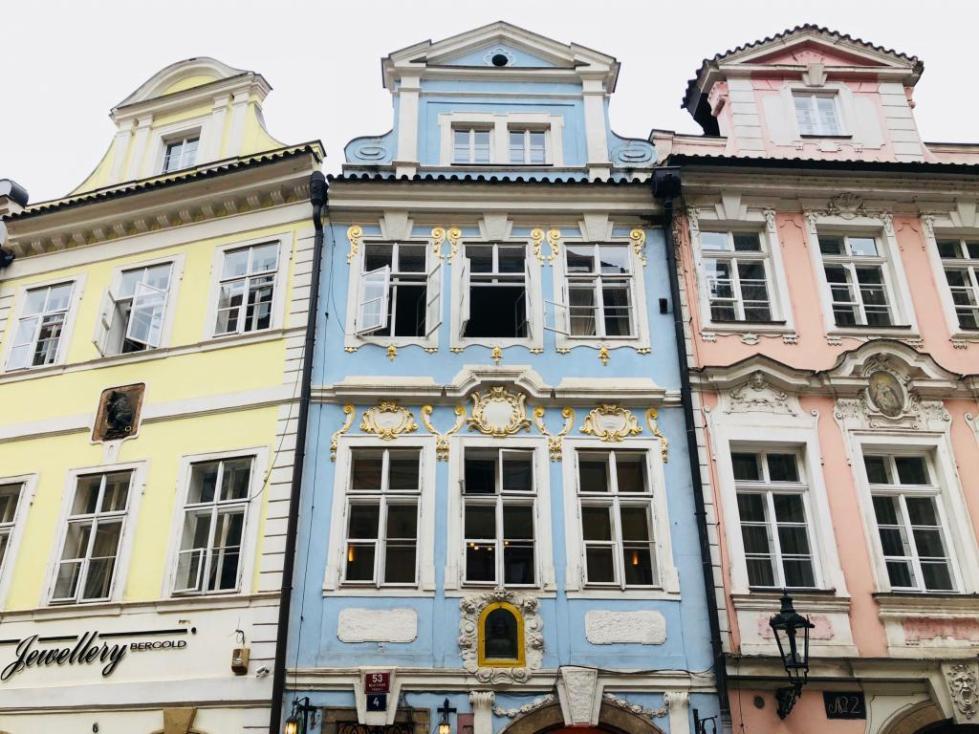 Фасад дома барокко дизайн