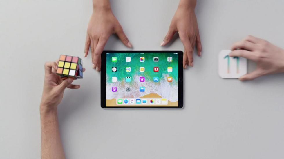 Удаление данных с iPad