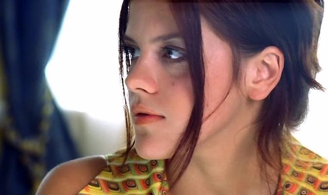 Кадр из фильма с актрисой Натальей Симаковой