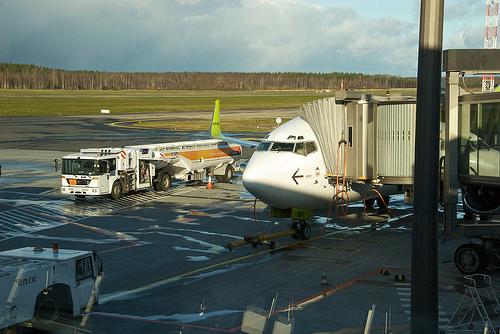 телетрап в аэропорту риги