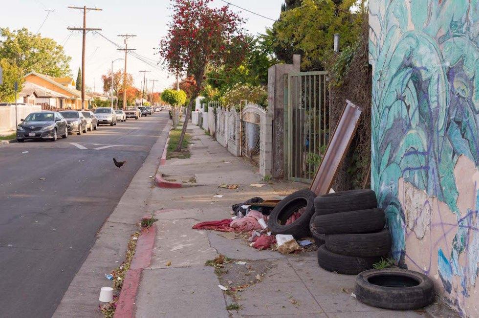 гетто-районы Лос Анджелеса