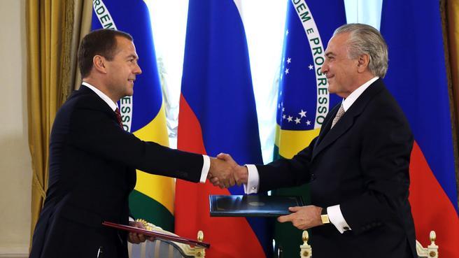 бывшие президенты россии и бразилии