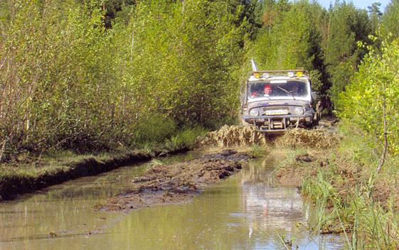 Путь к озеру