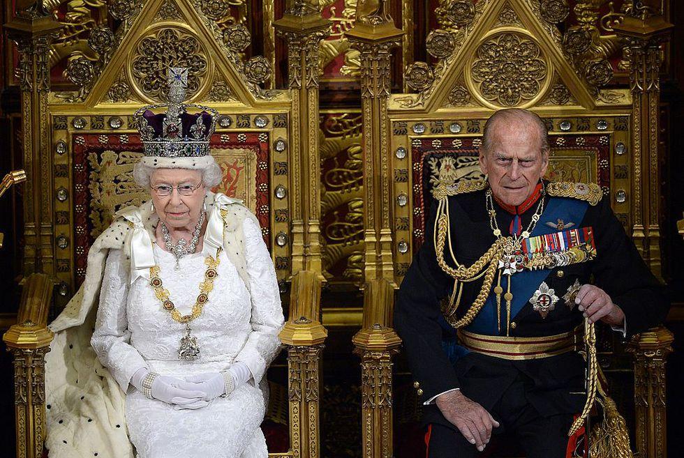 Королева и принц-консорт