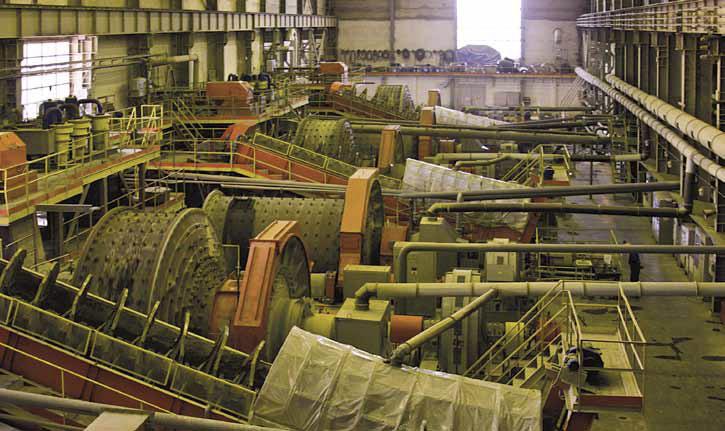 Дробильный цех Покровского рудника