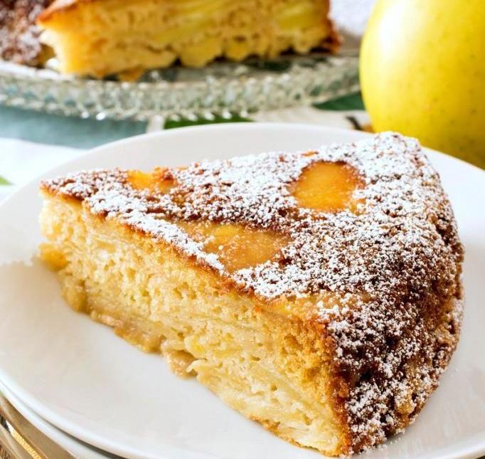 способ приготовления шарлотки с яблоками