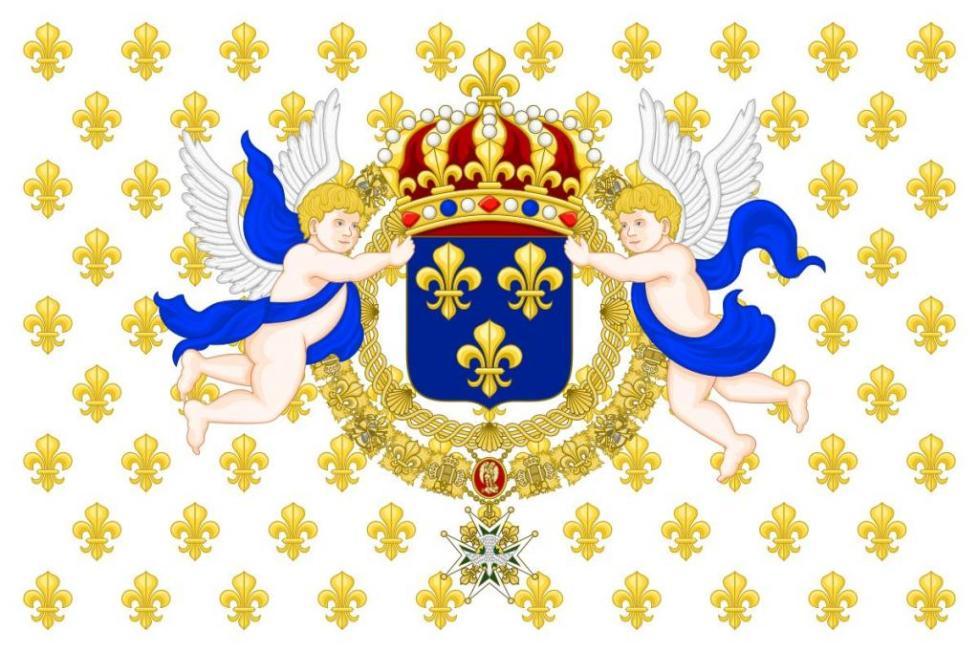 Штандарт королей Франции