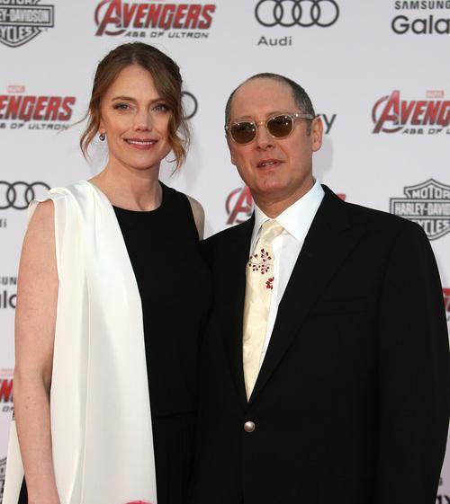 Лесли Стефансон с мужем
