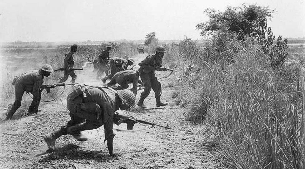 Боевая операция индийских войск