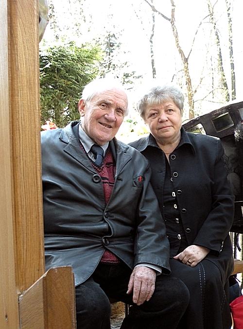 Павел Винник с женой Татьяной