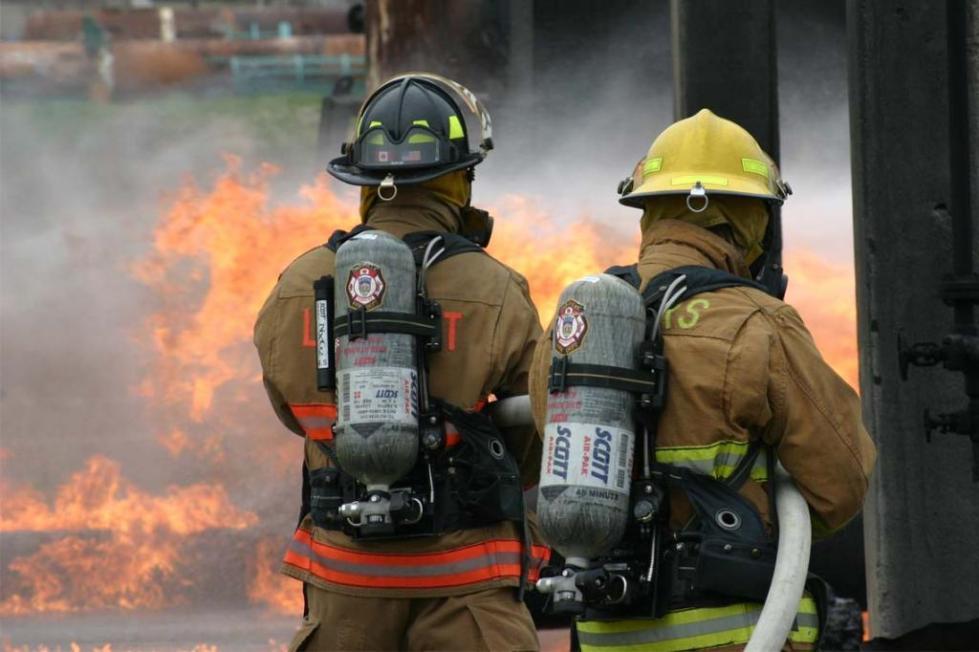 помощь пожарников