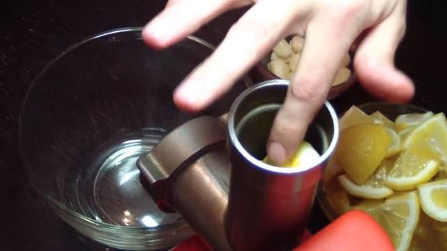 приготовление настойки чеснок мед лимон