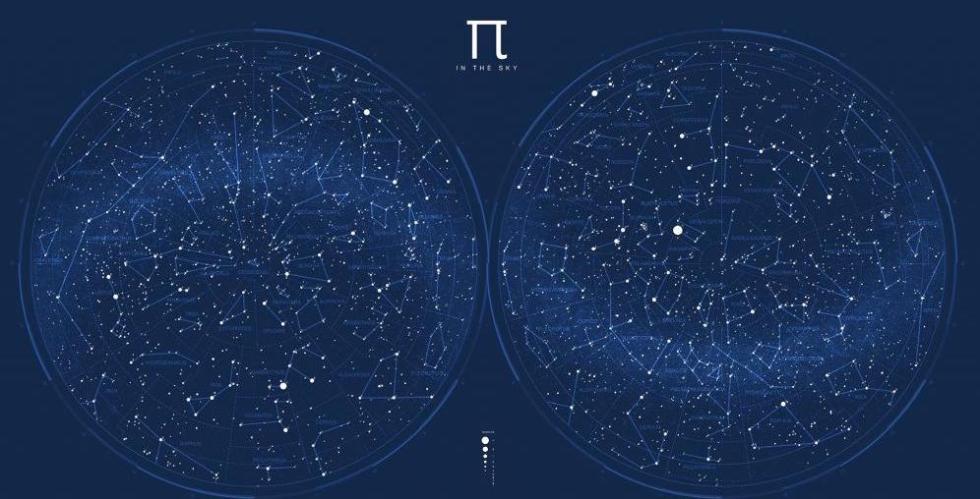 карта астрономия