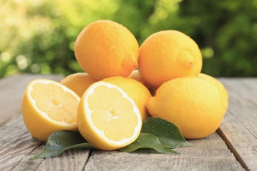 Цитрус желтый лимон.