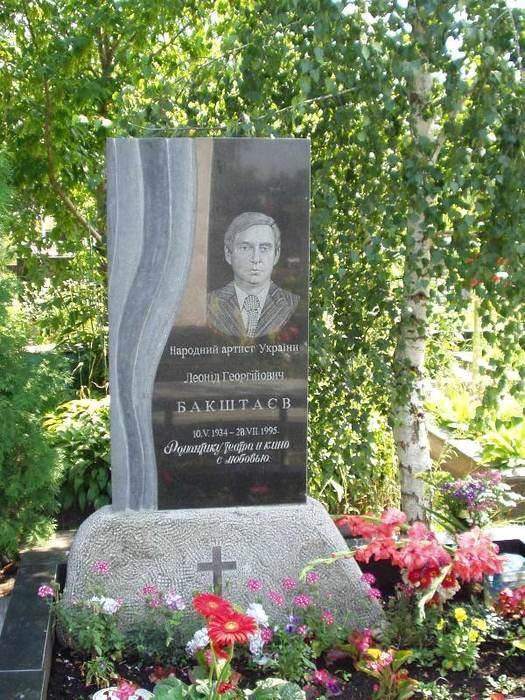 Могила Бакштаева