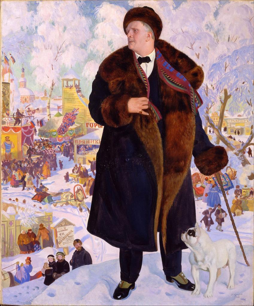 """""""Портрет Ф.И. Шаляпина"""" 1921 год"""