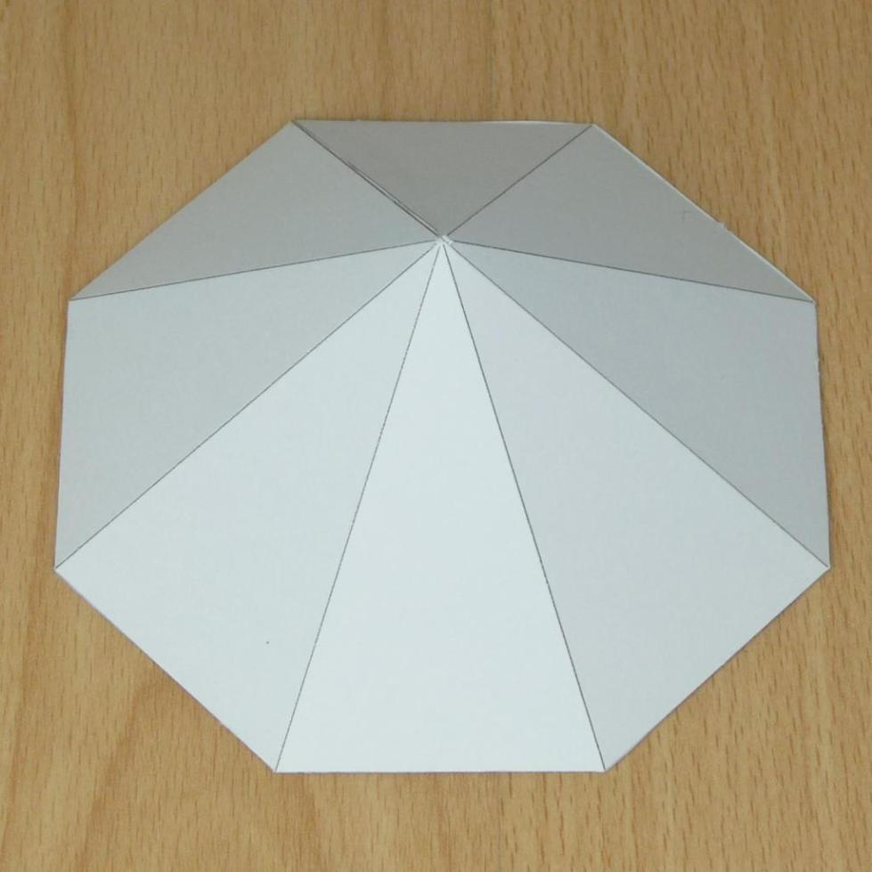 Восьмиугольная пирамида