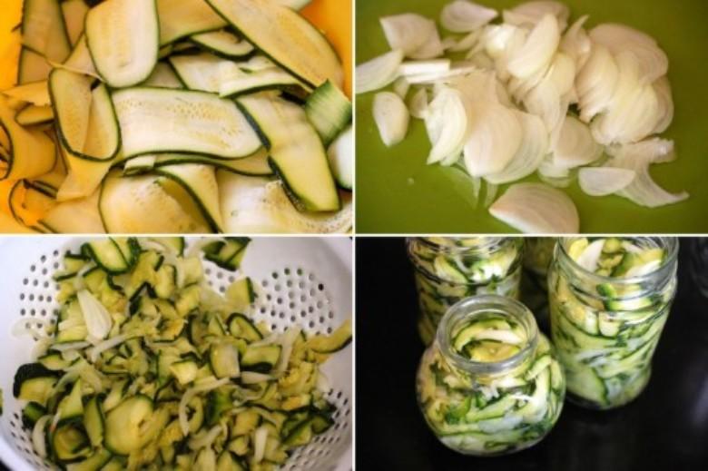 салат из кабачков приготовление