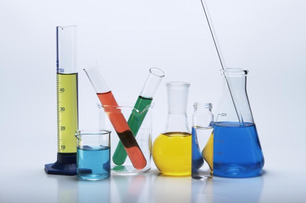 химические пробирки