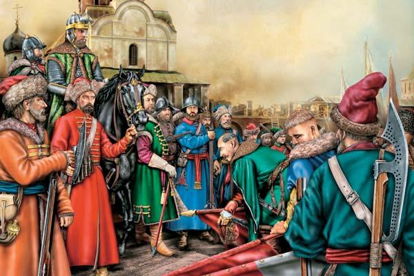 Литовские и московские князья