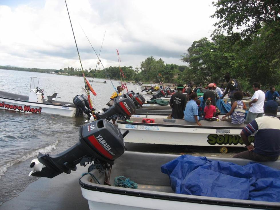 Моторы Эндуро на лодках рыбаков