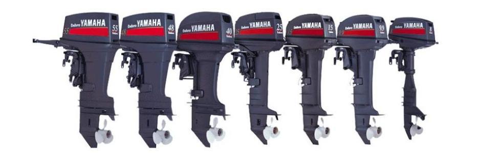 Линейка лодочных моторов Ямахо Эндуро