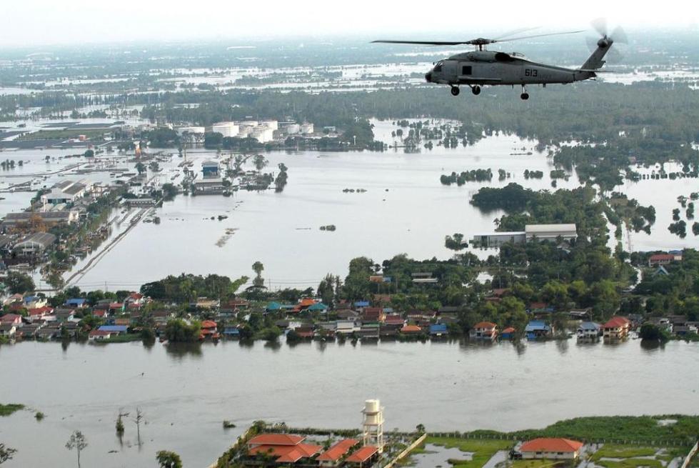 наводнение в Таиланде 2011