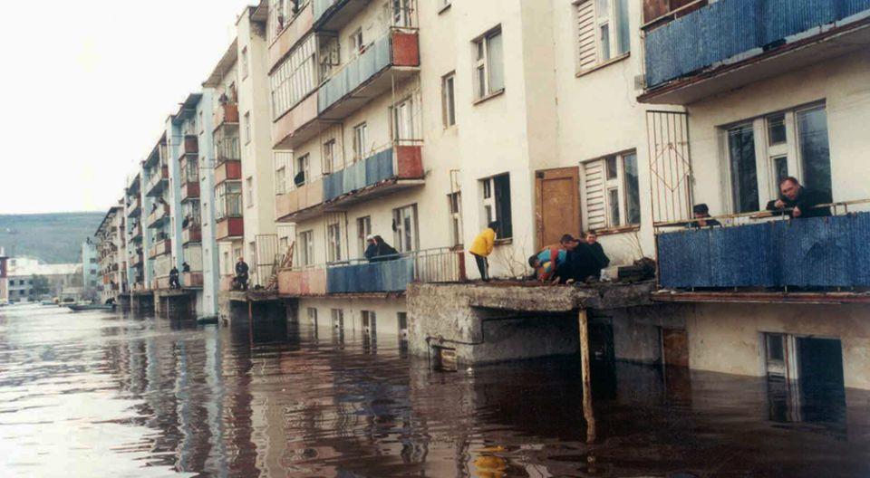 наводнение в Ленске