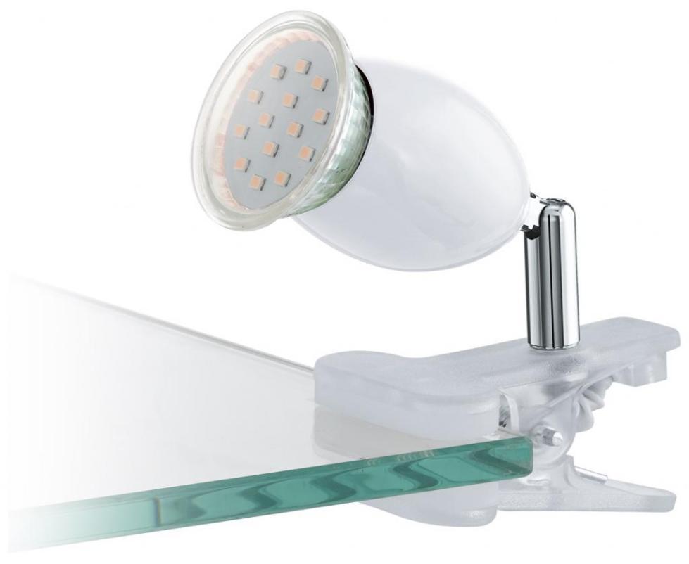 светильник светодиодный на прищепке с гибкой ножкой