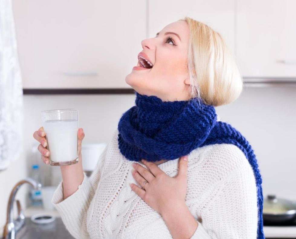 Полоскание горла
