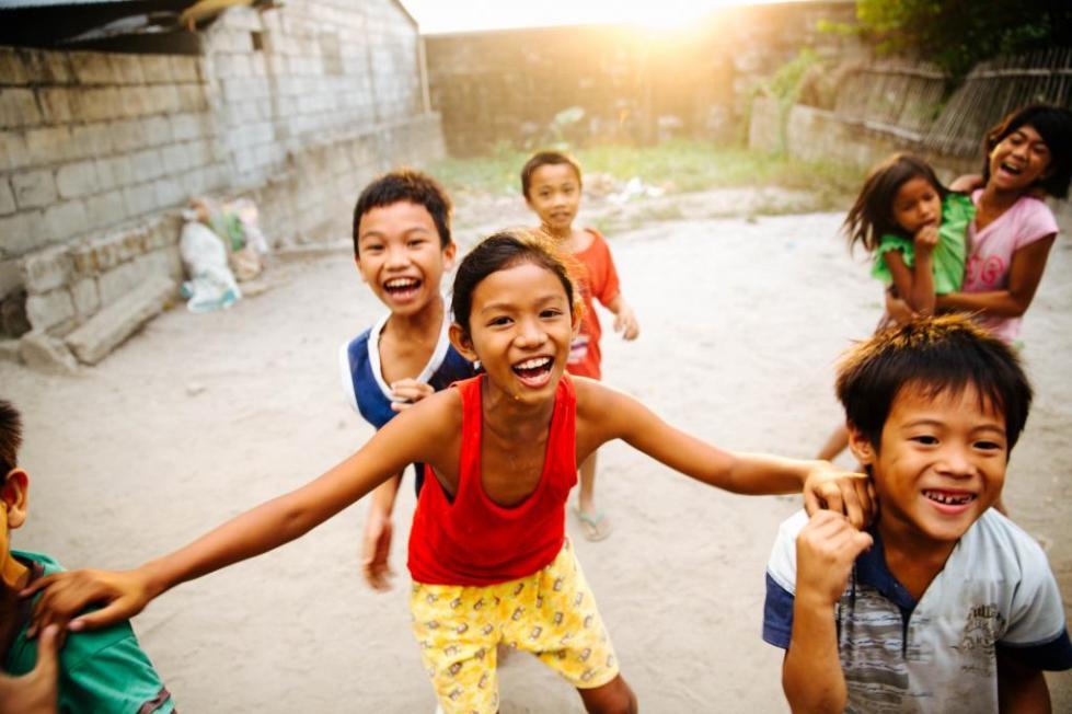 Малайзийские дети.