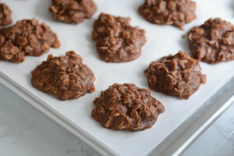 овсяно-творожное печенье с какао