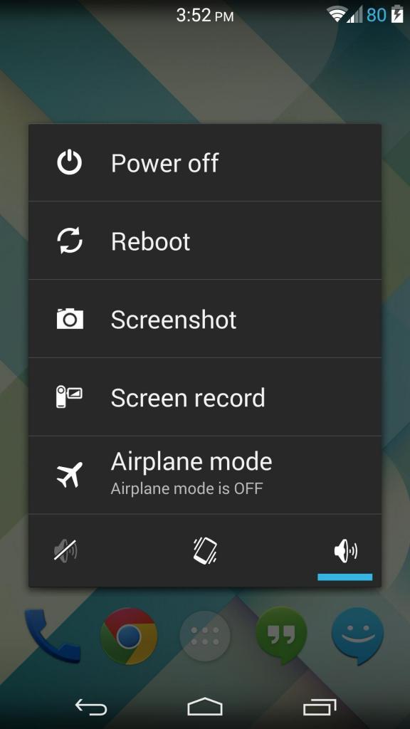Создание скриншота на Android-устройстве