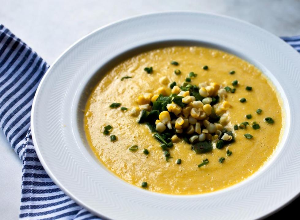 укурузный крем суп из консервированной кукурузы