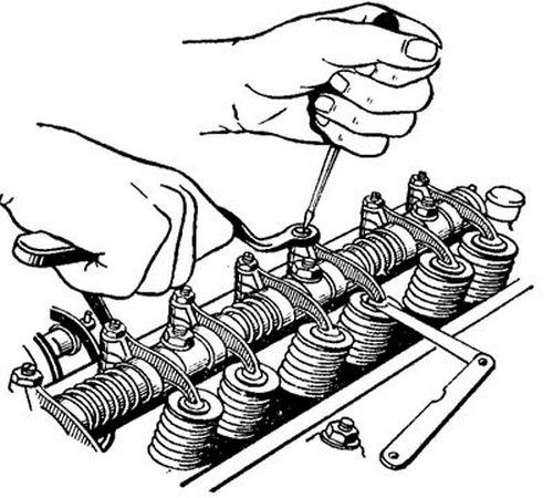 газель 4216 регулировка клапанов