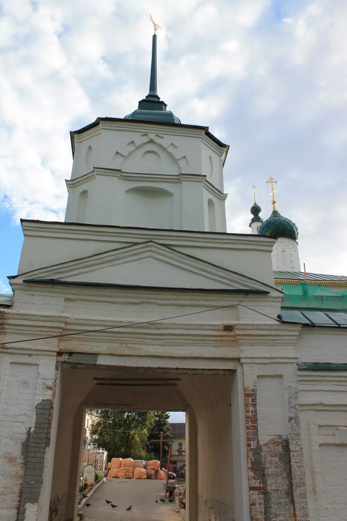 Реконструкция монастырских ворот