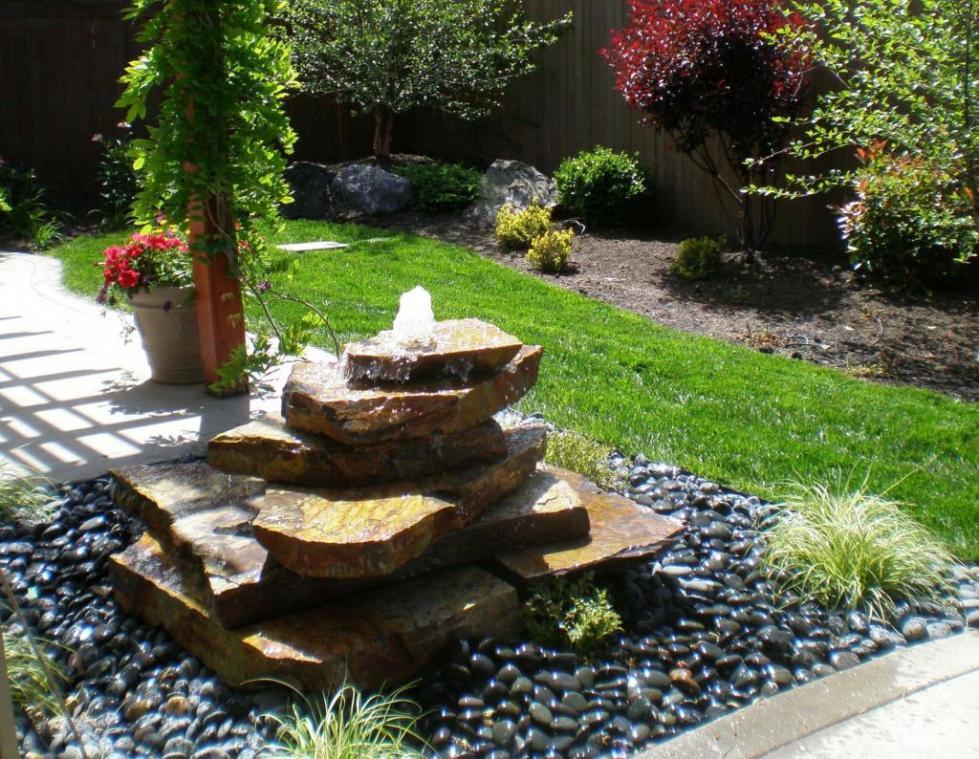самодельный фонтан