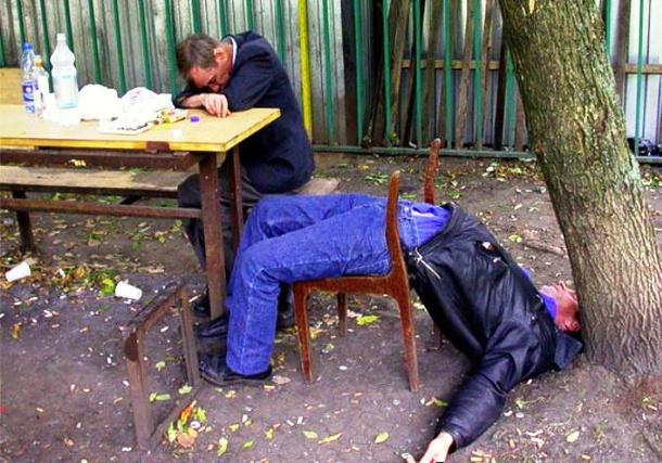 Нелепые последствия пьянки