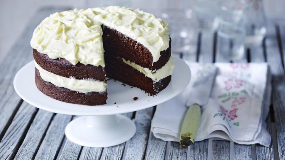 торт с масляным кремом