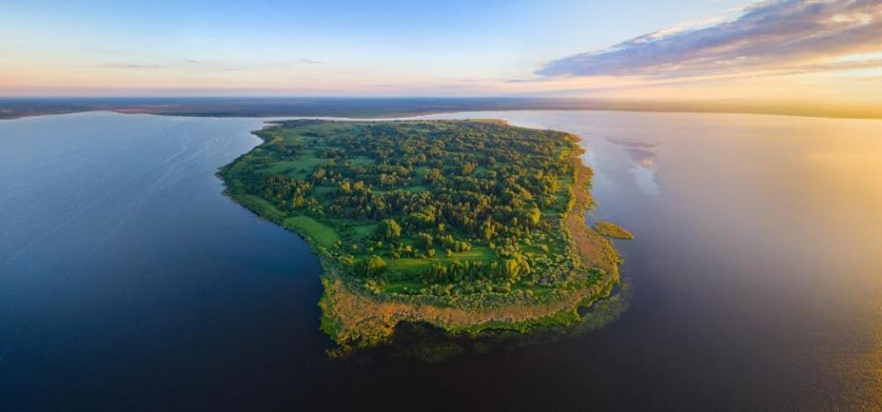 Озеро Освейское Беларусь