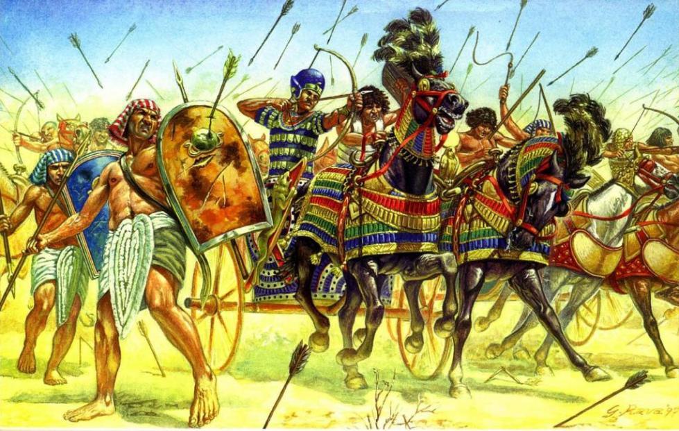 атака египетской армии