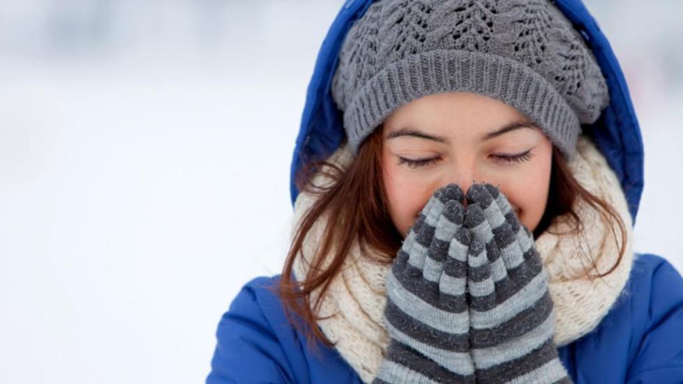 зимой надевайте обязательно варежки