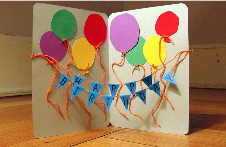 открытка мальчику на день рождения своими руками идеи
