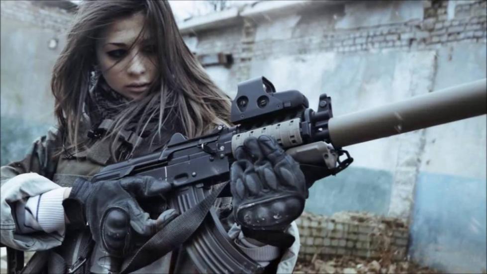 Женщина с оружием