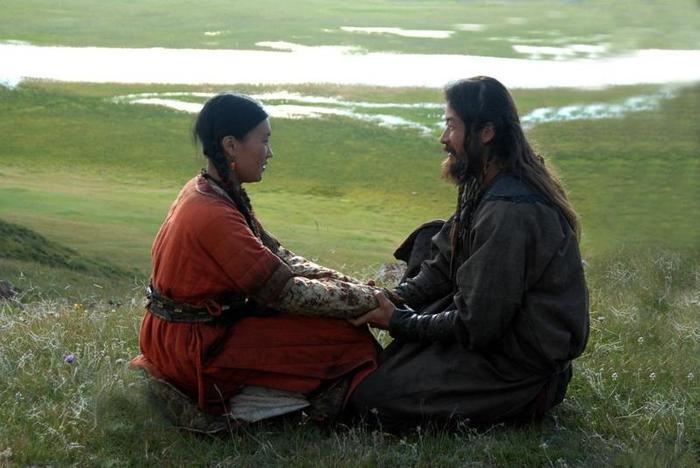 хан с женой