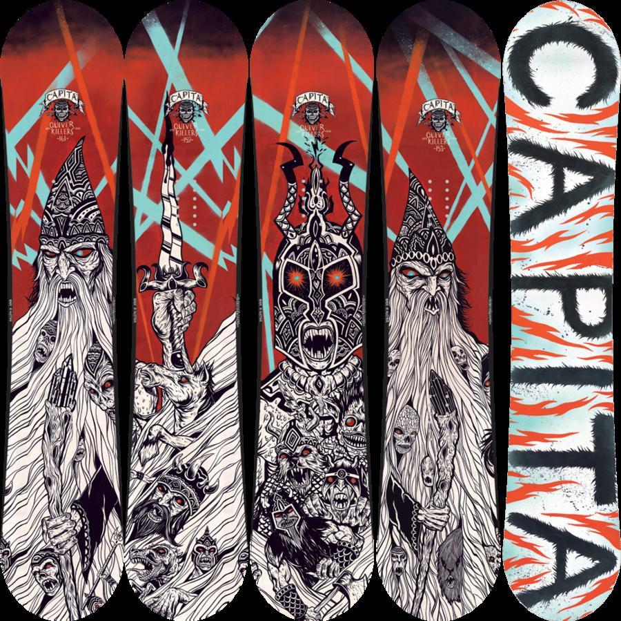 Оригинальные сноуборды