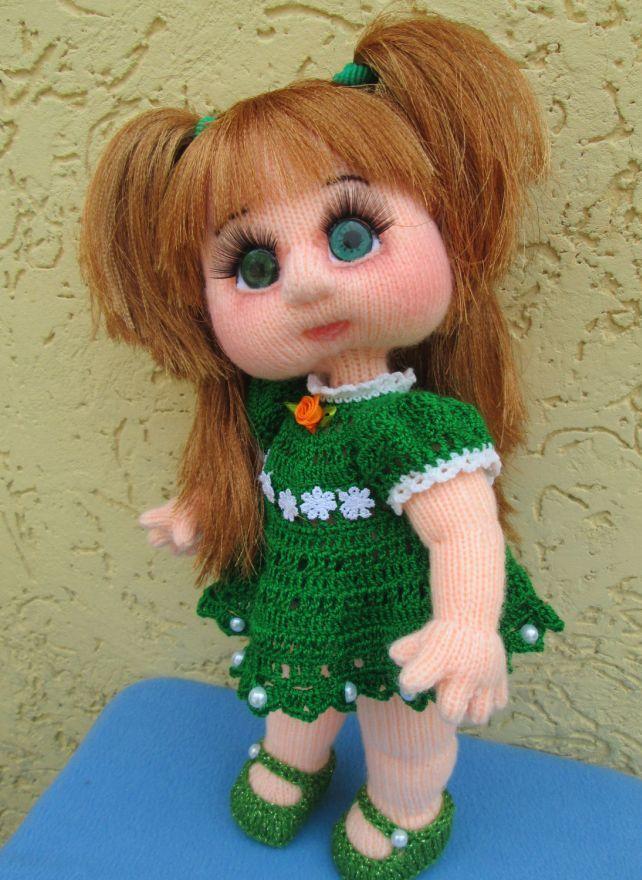 кукла спицами мастер класс