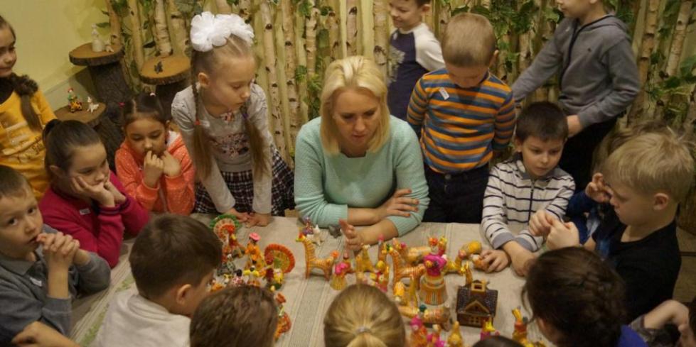 забавушка музей народной игрушки